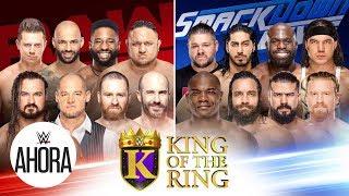 El Rey del ring comienza en Raw: WWE Ahora, Agosto 19, 2019