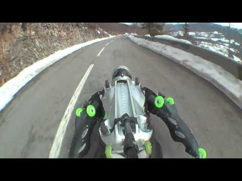 WINTER TEST (mixer intrepide) with Jean Yves Blondeau ® BUGGY ROLLIN aka Rollerman