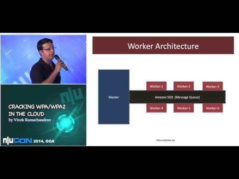 nullcon Goa 2014:- Attacking WPA/WPA2 in the Cloud by Vivek Ramachandran