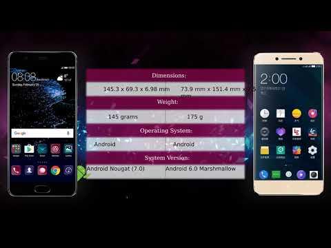 Huawei P10 Vs LeEco Le Pro 3 X722 - Phone Comparison