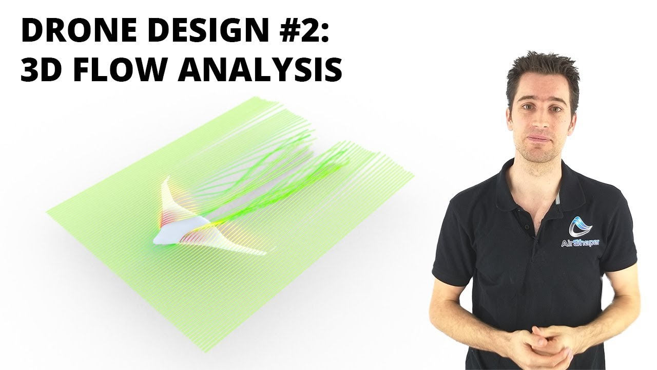 Drone design #2: 3D Flow Analysis
