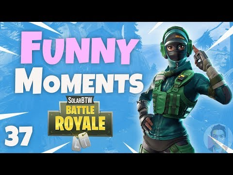 200 IQ TRAP OUTPLAYS US! - Fortnite Funny Fails and WTF Moments! #37
