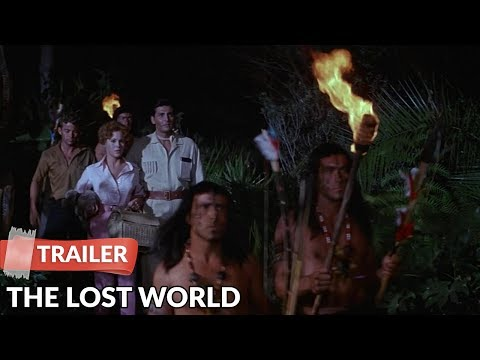 The Lost World 1960 Trailer | Michael Rennie