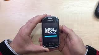 Samsung Rex 70 S3800W HARD RESET