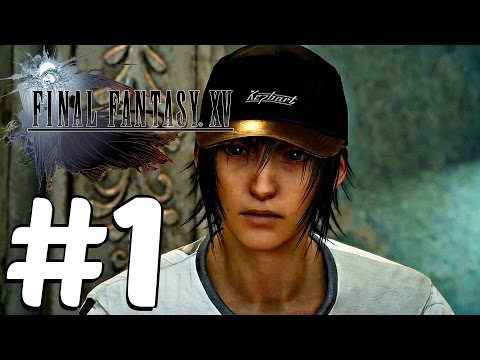 Final Fantasy XV - Gameplay Demo Walkthrough Part 1 Gamescom (Customization Showcase)