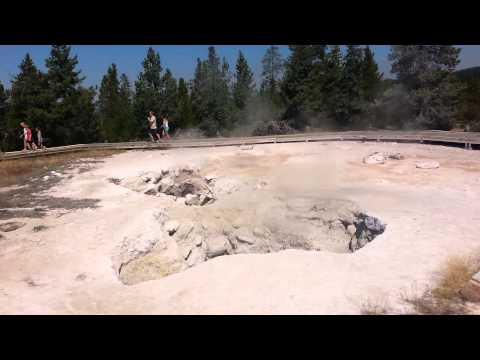 Yellowstone geysers! A must see it once a life! ;)