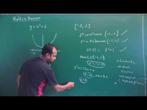 Rolle's Theorem & Mean Value Theorem | CBSE 12 Maths & comp | NCERT Ex 5.8 intro