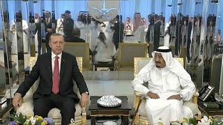 Erdogan le médiateur est en Arabie Saoudite