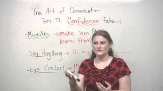 Conversation Skills - Speak with confidence