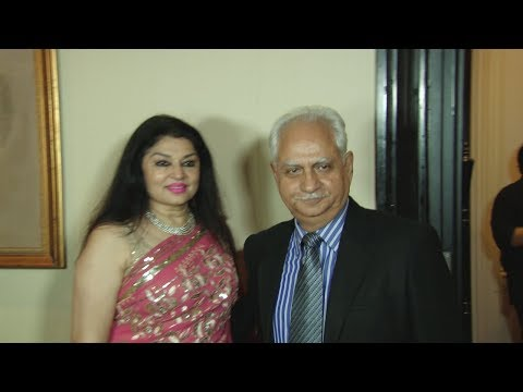 Ramesh Sippy Indian Film Director AT CANFLY Charity & A Fundraiser Aid For Tata Memorial Hospital