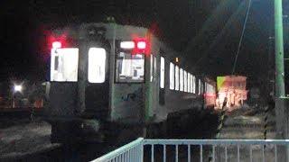【キハ110系】JR花輪線 東大館駅から大館行き発車