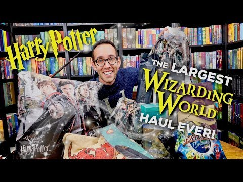 LARGEST Wizarding World Of Harry Potter Haul EVER | Universal Studios