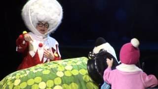 """Новогоднее шоу """"Маша и Медведь в цирке!"""" 2014"""