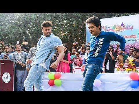 Anubhav & Swaraj Dancing On Aadhar Card Re Sukuti Sahoo Song - Anubhav's Birthday Celebration