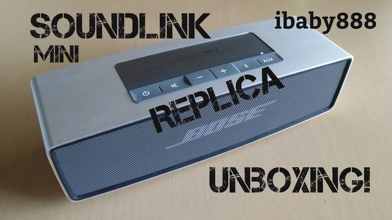 bose soundlink mini speaker replica unboxing youtube. Black Bedroom Furniture Sets. Home Design Ideas