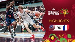 USA - France | Full Highlights | Final - FIBA U19 Basketball World Cup 2021