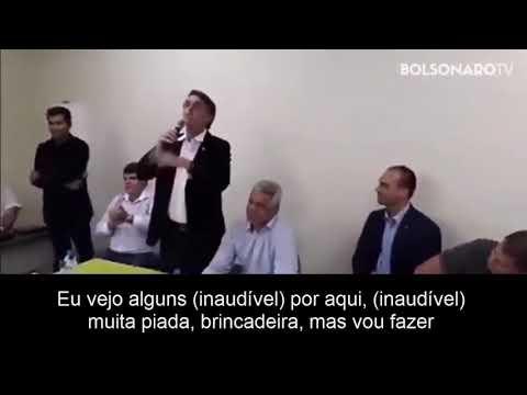"""Em vídeo, Bolsonaro chama Brasil de """"lixo"""" e diz que Amazônia """"não é mais nossa"""""""