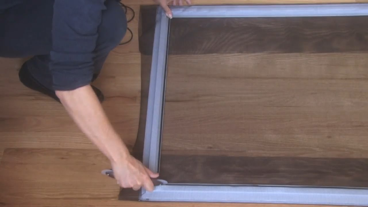 Fix This How To Fix A Screen Door Youtube