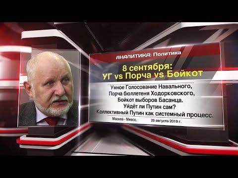 Что делать 8 сентября?  УГ Vs Порча Vs Бойкот #Сулакшин #Нейромир-ТВ
