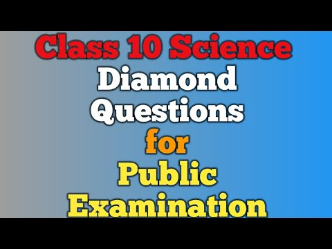 10th Science Important Questions | 10th Science Diamond questions for public examination |