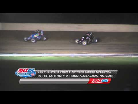 USAC National Sprint Cars at Hartford Motor Speedway (MI) - August 11, 2012