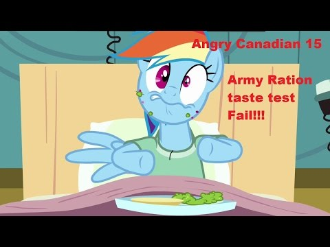 Angry Canadian 15 Canadian Army Field Rations Taste Test Epic Fail