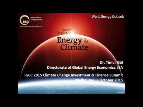 IGCC 2015 Summit - Timur Guel, International Energy Agency