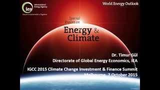 IGCC 2015 Summit - Timur Guel, International Energy Agency