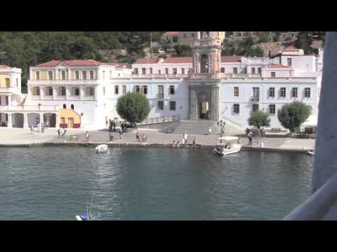 Panormitis Monastery, Symi, Greece - July 2013
