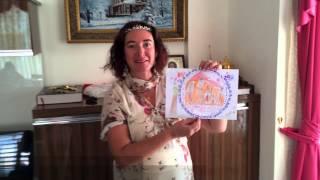 Урок рисования в православной Воскресной школе на Северном Кипре