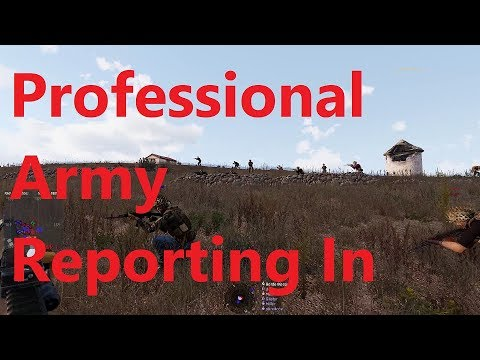 Professional Army Reporting In