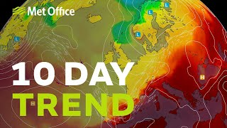 10 Day trend – Will low pressure stick around? 28/07/21