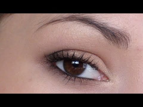Assez Tuto : Make up pour yeux marrons - YouTube ML91