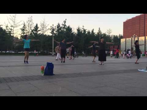 Beijing Group Dancing at USTB 2