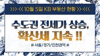 서울, 수도권 전세가 확산세 지속 (10월 5일자  K…