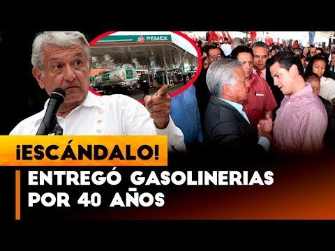 TE.RRIBLE NOTICIA PARA AMLO PEÑA ENTREGO PIPAS Y GASOLINERIAS POR 40 AÑOS A LA ANT0.RCHA