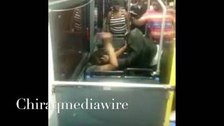 Lil girl start fight with Veteran and get the shock of her young life