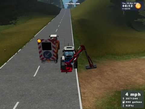 Farming simulator 2009 gold edition, check out this ranch youtube.