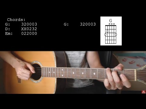 BTS V – Winter Bear EASY Guitar Tutorial With Chords / Lyrics