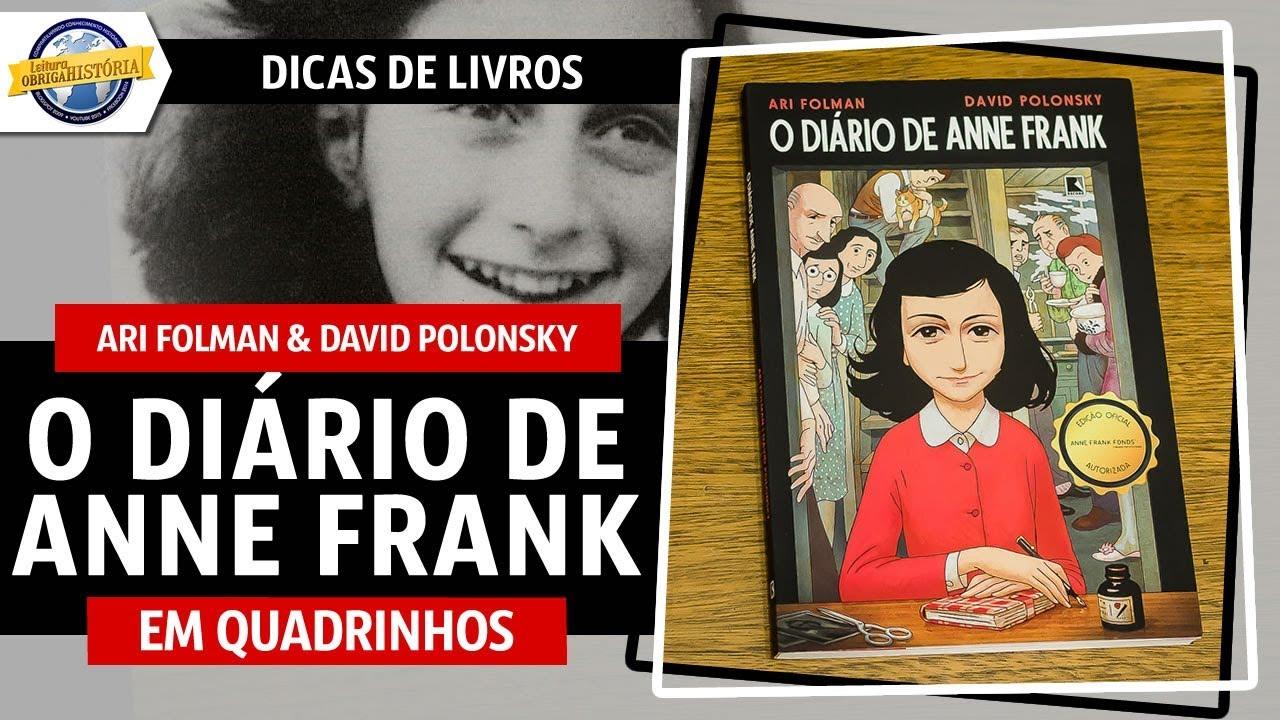 O Diário De Anne Frank Em Quadrinhos Youtube