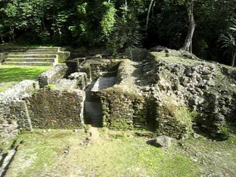 temple of the Jaguar, Lamanai, Belize