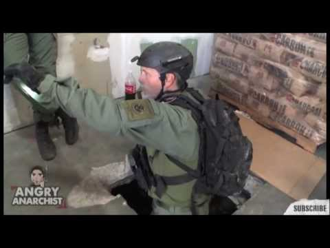 U.S. Police Discover a Drug Smuggling Tunnel - and lots of Drugs
