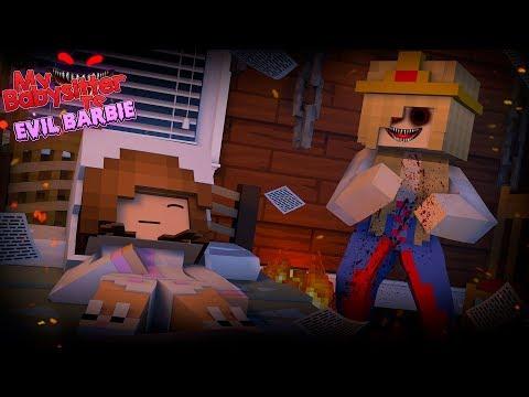 BA ELLIES BASITTER IS EVIL BARBIE !! Minecraft w Little Kelly custom Roleplay