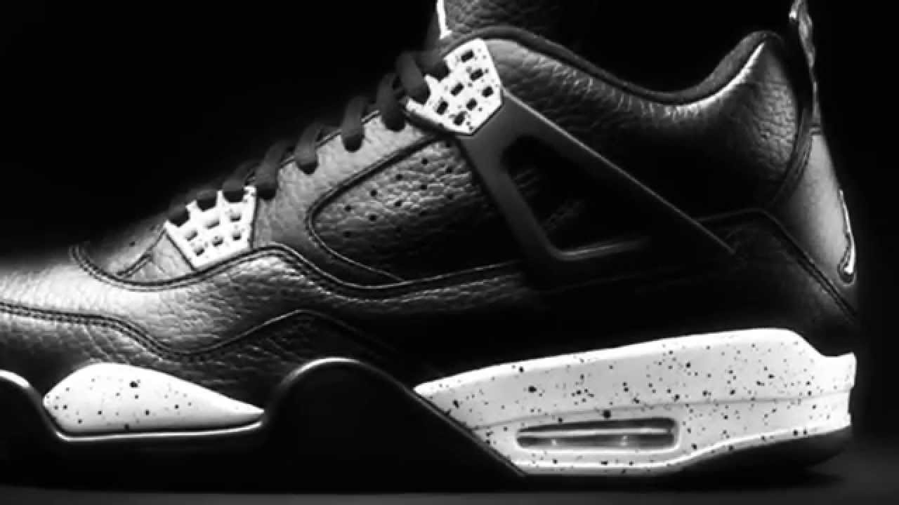 b37b0dad635c UPCOMING 2015 OREO (Nike Air Jordan 4 Retro IV Oreo 2015 Size 7-13) RELEASE  DATE - YouTube