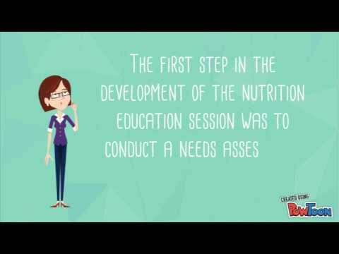Nutrition Education in the Community