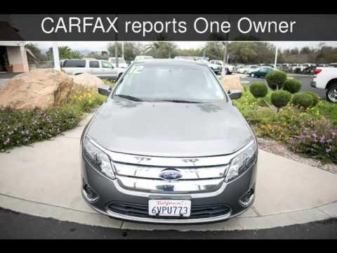 2012 ford fusion sel used cars san luis obispo california 2014 12 13 youtube. Black Bedroom Furniture Sets. Home Design Ideas