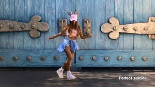 Rihanna - Pon De Replay ♫ Shuffle Dance (Music video) House   Perfect Suicide