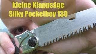 Silky Pocketboy 130mm Klappsäge