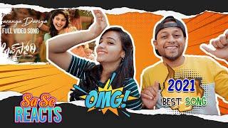 Saranga Dariya Video Song REACTION   Love Story   Naga Chaitanya, Sai Pallavi   MUMBAI TAMIL COUPLE