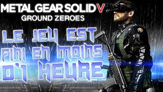 XBOX ONE: Découverte | Metal Gear Solid V: Ground Zeroes | Le jeu est fini en moins d
